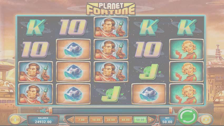 ecran de joc planet fortune gratis