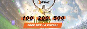 free bet betano casino la fotbal