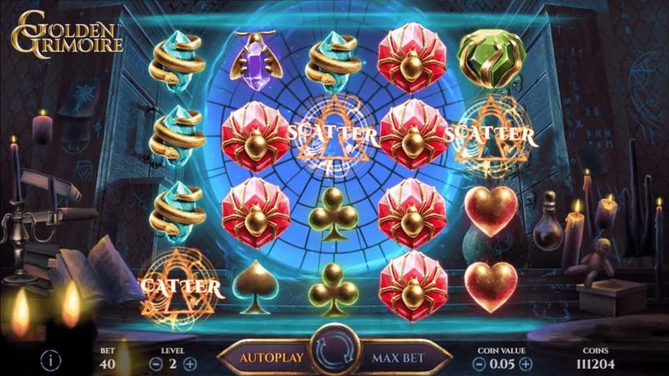 joc slot golden grimoire netbet casino
