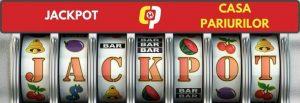 jackpot casa pariurilor la jocurile online