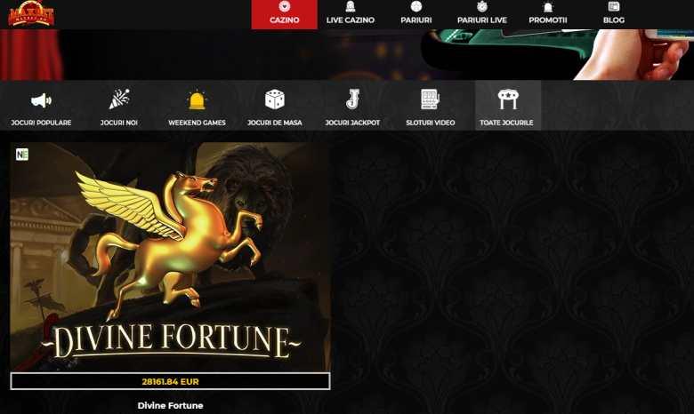 jackpot divine fortune maxbet