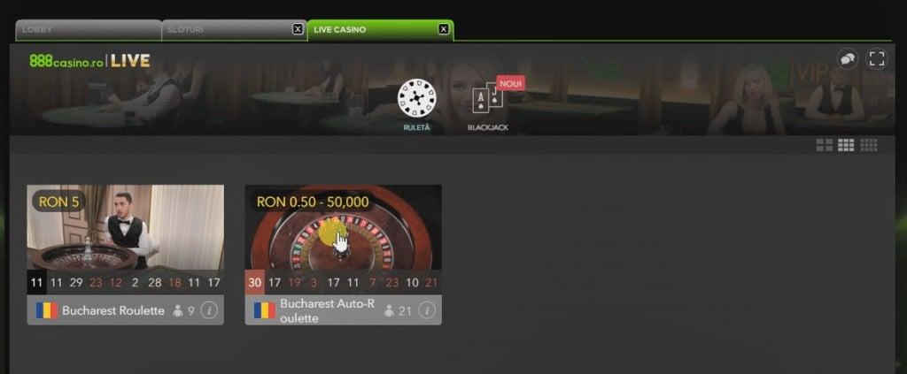 888 casino live casino jocuri