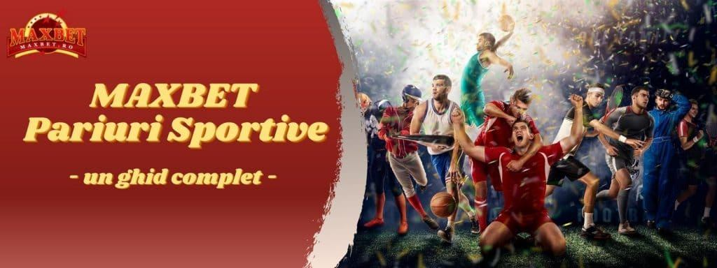 banner cu maxbet pariuri sportive online