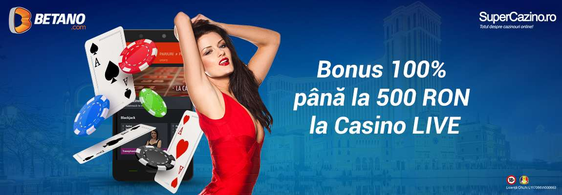 betano casino live bonus