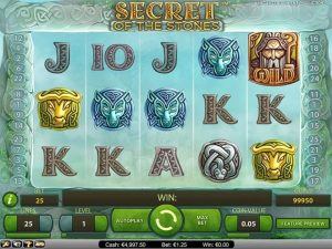 screen cu slotul secret of the stones