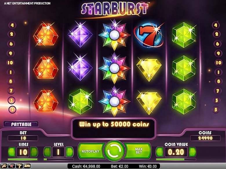 cod bonus netbet starburst