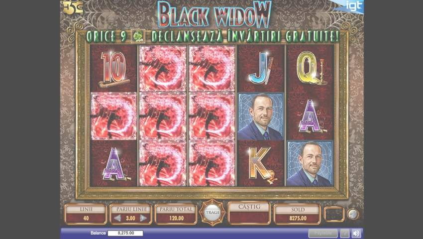 black widow slot