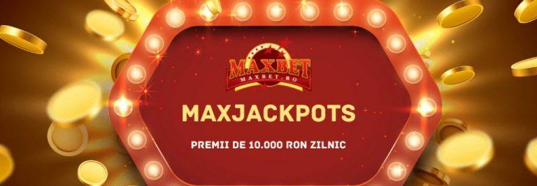 oferta cu premii si bonus maxjackpots maxbet