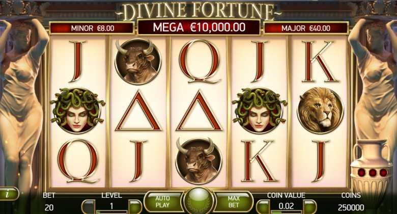divine fortune joc