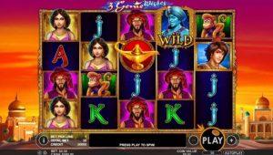 pragmatic play genie wishes online