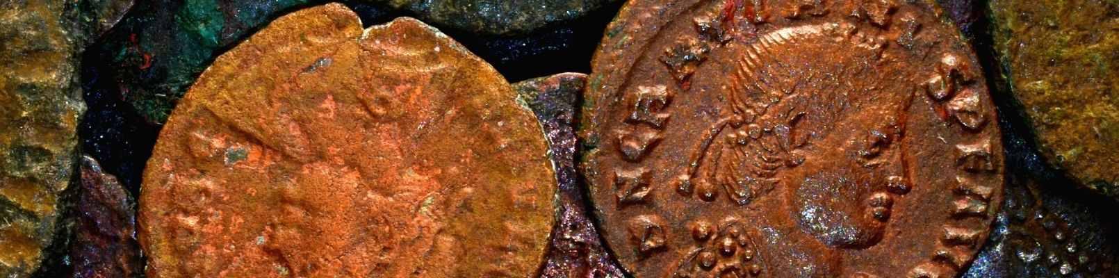 istoria banilor monede vechi