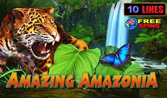 amazing amazonia gratis logo slot