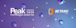 peak performance marketing awards 2020