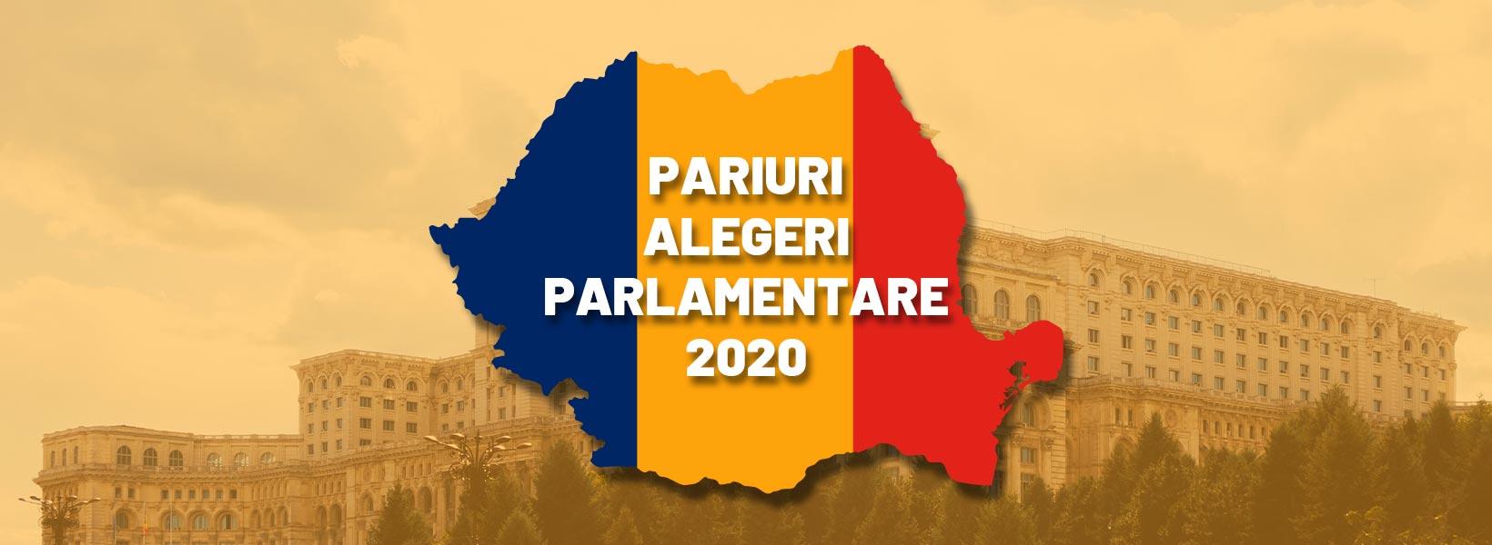 pariuri alegeri parlamentare