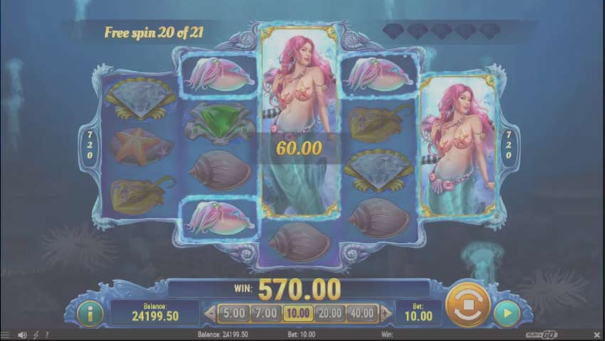 mermaid diamond gratis ecran joc