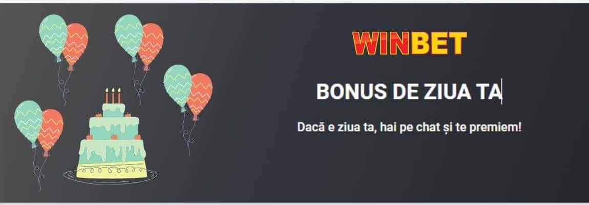 ofertă bonus ziua ta winbet