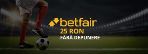 25 ron freebet betfair