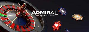 admiral ruletă