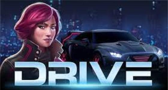 drive mayhem slot logo 2021
