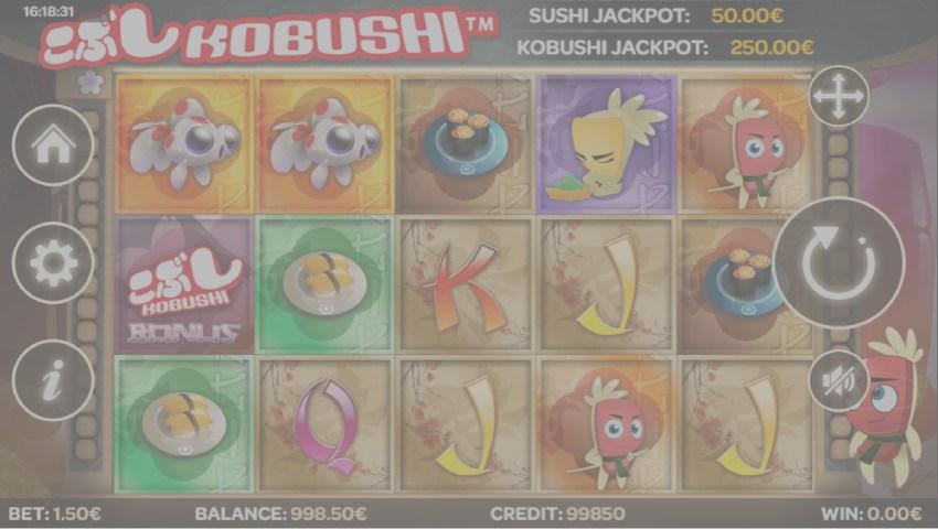 kobushi gratis slot online
