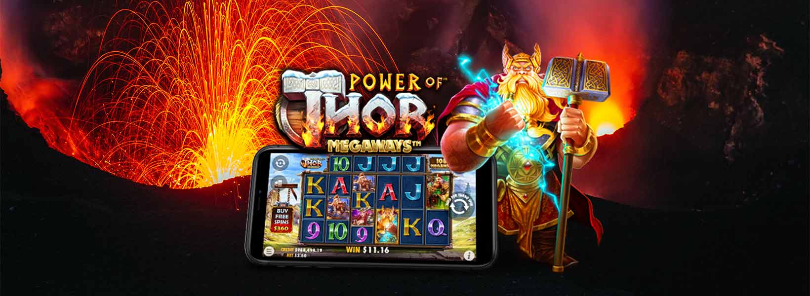power of thor megaways slot online