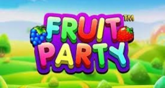 fruit party slot logo